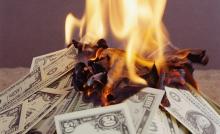 moneyburning