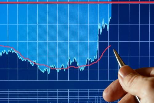 Financial Chart, Markets Go Up