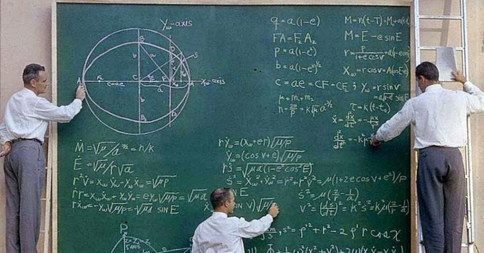 NASA before Powerpoint, 1961