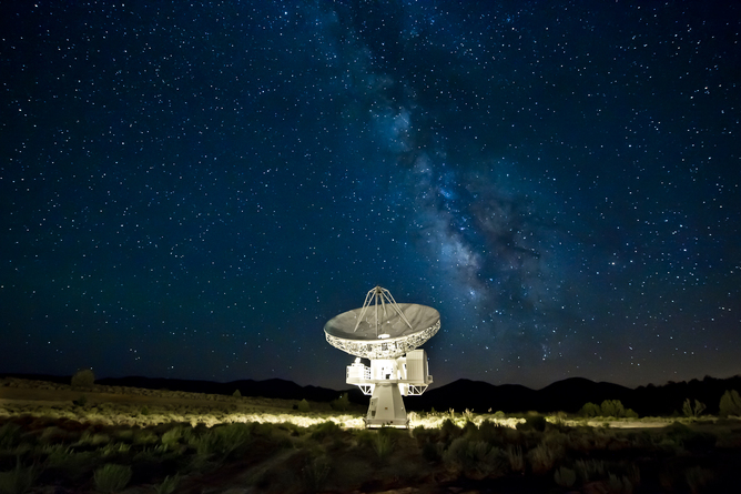 CARMA Radio Telescope, Big Pine, CA